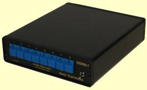 Switch eight digital video inputs